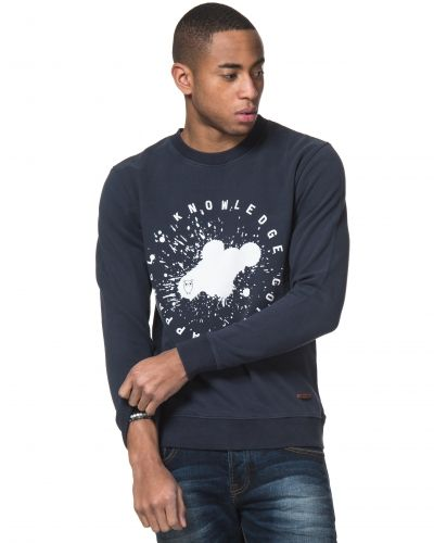 Knowledge Cotton Apparel Logo Sweat 1001 Navy