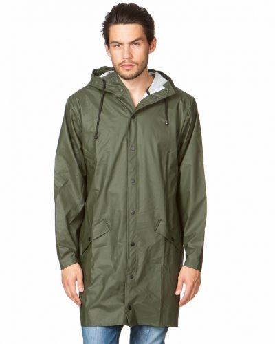 Long Jacket Green Rains allvädersjacka till herr.