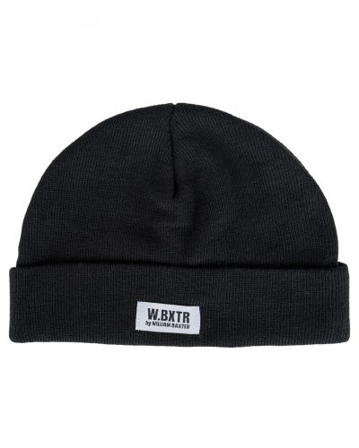 William Baxter Luca Knitted Hat Black