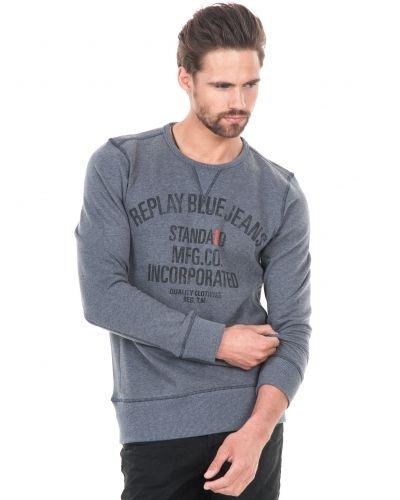 Grå sweatshirts från Replay till killar.