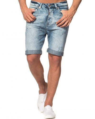 Blå jeansshorts från Adrian Hammond till killar.