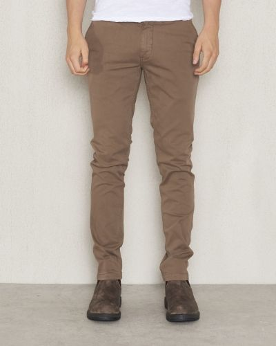 Chinos Marco 0125 Khaki Brown från NN.07