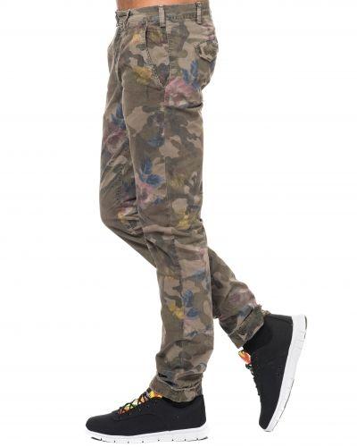 camouflage byxor herr