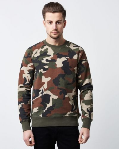 Sweatshirts Marvin Camo Burnt från WeSC