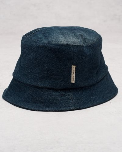 Hatt Math Bucket Hat Denim från Nudie Jeans