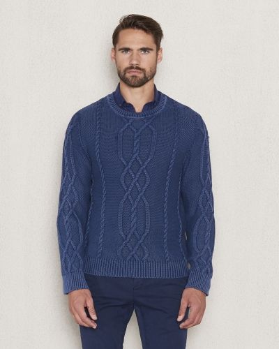 Castor by Castor Pollux Matteus Cable Knitted Sweater