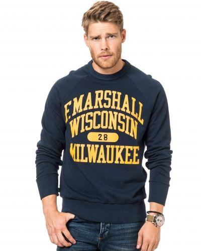 Sweatshirts Milwaukee Sweat Navy från Franklin & Marshall