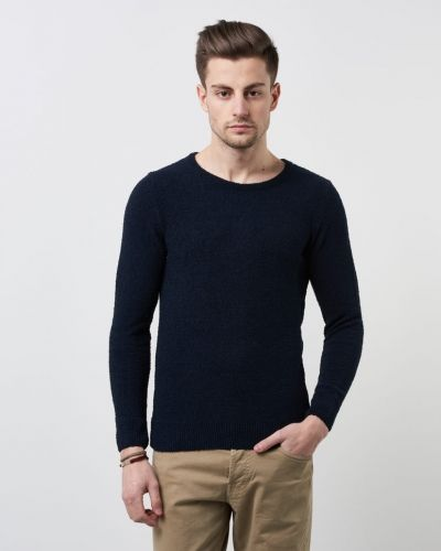 Moss Knit 1001 Knowledge Cotton Apparel stickade tröja till herr.