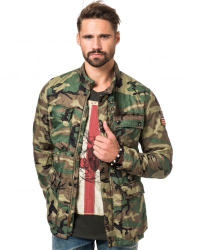 camouflage jacka herr