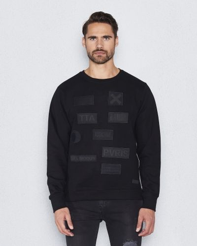 Things To Appreciate Multipatch Sweat Black