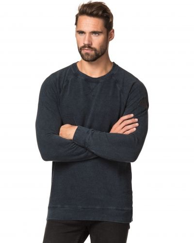 Clay Cooper Nautical Washed Sweater Navy