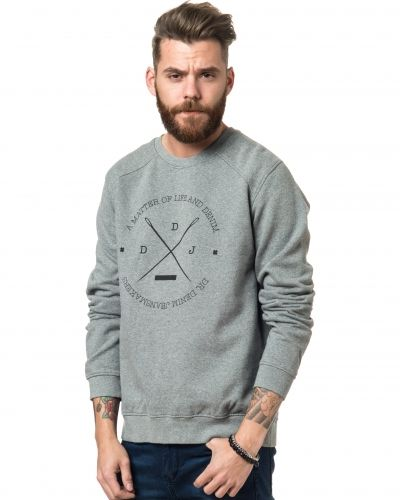 Nero Sweater Grey Mix Dr.Denim sweatshirts till killar.