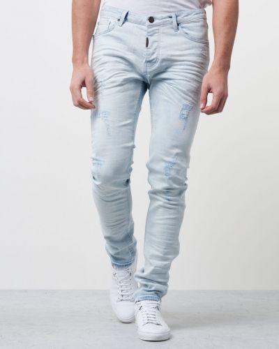Blå jeans från Adrian Hammond till herr.