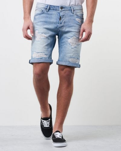 Nevada Shorts Bleached Repair Adrian Hammond jeansshorts till killar.