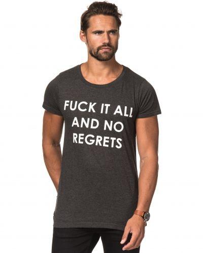 Speechless No Regrets Tee Dk Grey Melange