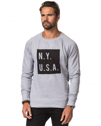 Speechless N.Y USA Sweater Grey Melange