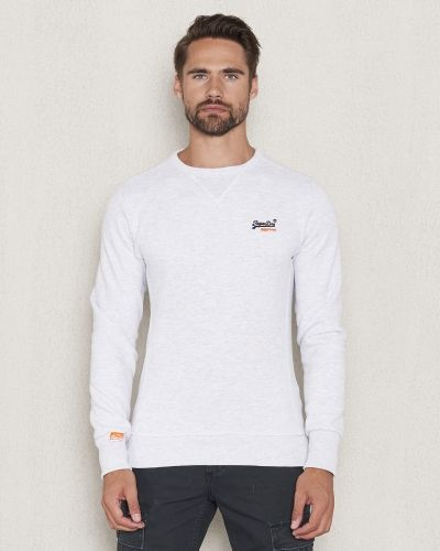 Superdry Orange Label Crewneck Sweat Ice Marl
