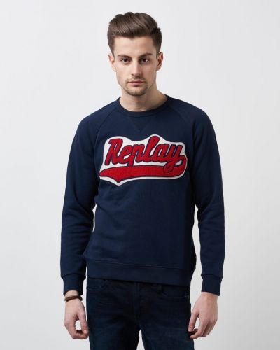 Replay Original Sweat Logo Navy