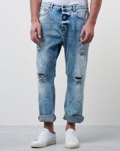 Orlando Cropped Bleached Adrian Hammond jeans till herr.