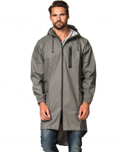 Rains Parka Grey