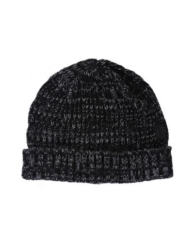 Patrik Knitted Beanie Black - William Baxter - Mössor