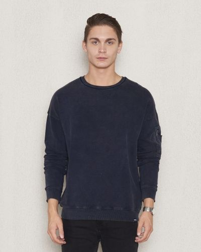Sweatshirts Pete Sweater Dark Navy från William Baxter