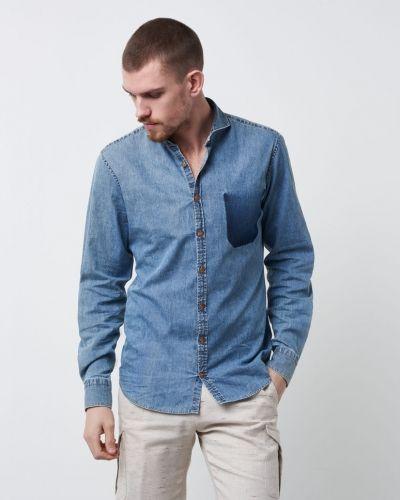 Piros Shirt Denim Castor by Castor Pollux jeansskjorta till herr.