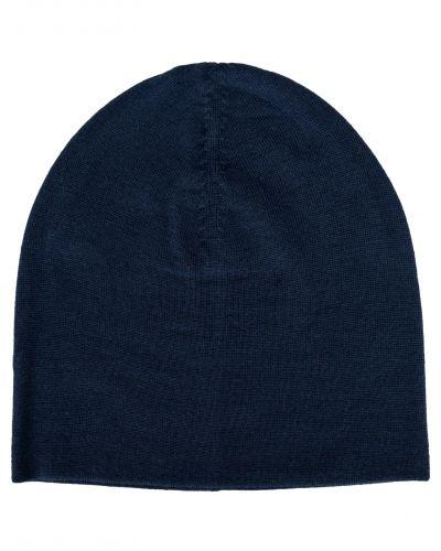 Amanda Christensen Plain Merino Hat 1 Navy