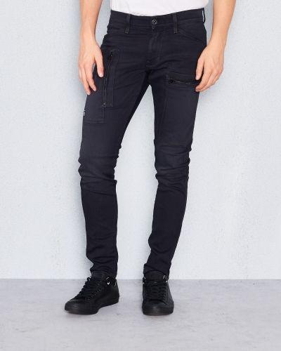 Powell Super Sim Dark G-Star blandade jeans till herr.