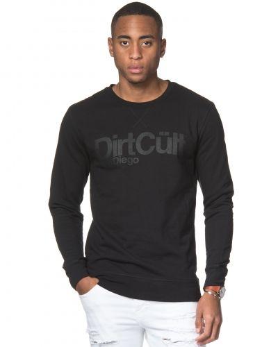 Sweatshirts Print Tone in Tone 01 Black från Dirt Cült