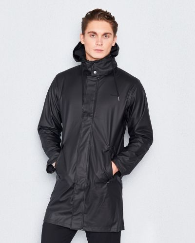 Rock PU Trenchcoat Men's 11 Jet Black från Tretorn