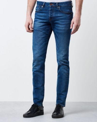 Blå blandade jeans från Scotch & Soda till herr.