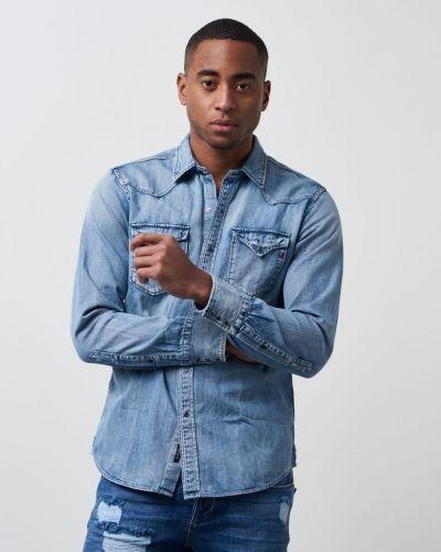 RBJ Denim Shirt 009 Replay jeansskjorta till herr.