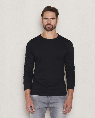 Replay RBJ L/S Tee Black