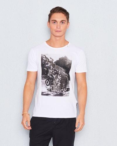 5db7f87851f Replay - RBJ Printed Tee White. T-shirts ...