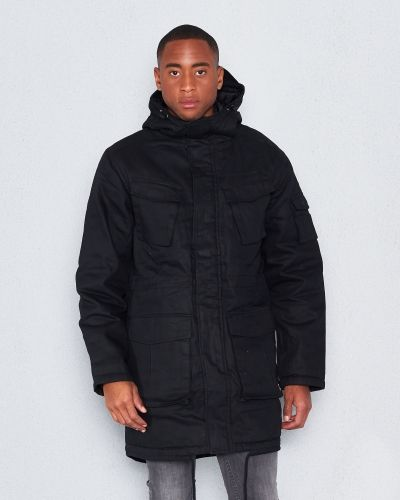 WeSC Reagan padded parka black