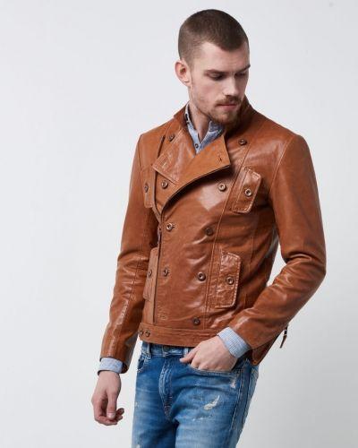 Renoir Leather Jacket Castor Pollux skinnjacka till herr.