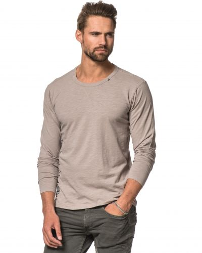 Replay Replay L/S Tee Light Grey