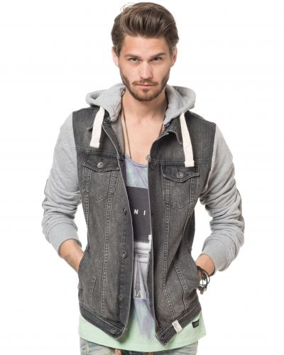 Adrian Hammond Ricardo Denim Jacket Grey
