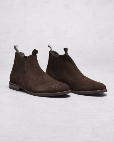 Hush Puppies Richard Chelsea Suede