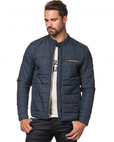 Replay RPL Quilted Blue Jacket