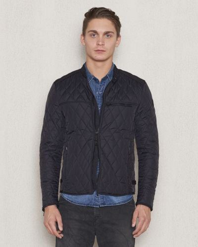 Replay RPL Quilted Motor Jacket Black