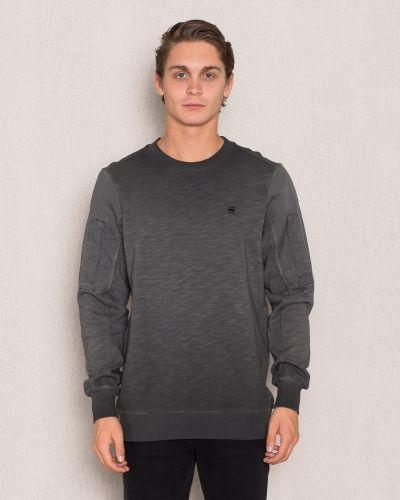 Svart sweatshirts från G-Star till killar.
