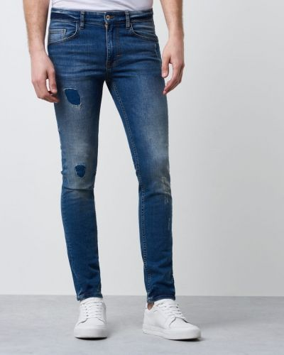 RVLT Skinny Used Destroyd Revolution slim fit jeans till herr.
