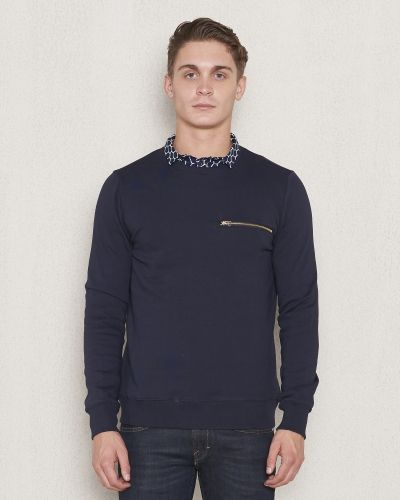 Revolution RVLT Zip Sweat Navy