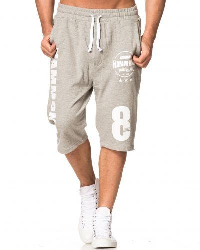 Adrian Hammond Sam Shorts Grey Melange
