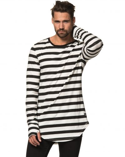 Things To Appreciate Scoop Stripe Sweat Black/White