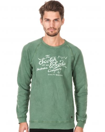 Scotch & Soda Scotch Logo Sweater 71 Grass Green