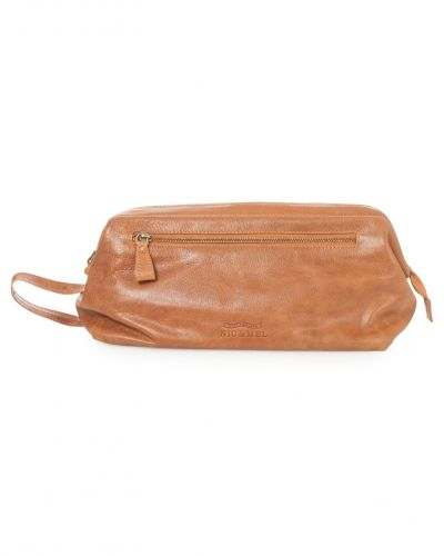 Nic & Mel Sean Toiletry Bag Cognac