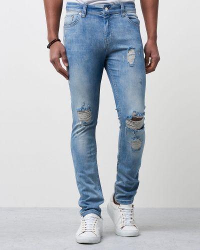 Sicko Super Blue Holes Just Junkies blandade jeans till herr.